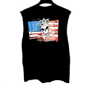 5 Five Finger Death Punch USA Concert Tour Shirt